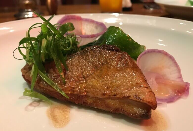 八芳園1周年記念ディナー(魚料理)