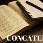 Excel関数CONCATENATE