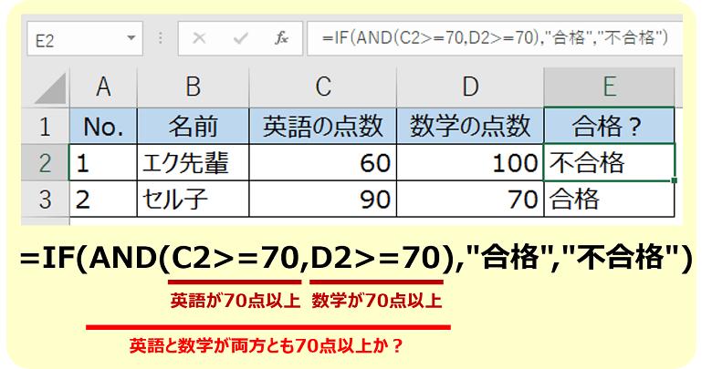 エクセルIF関数4