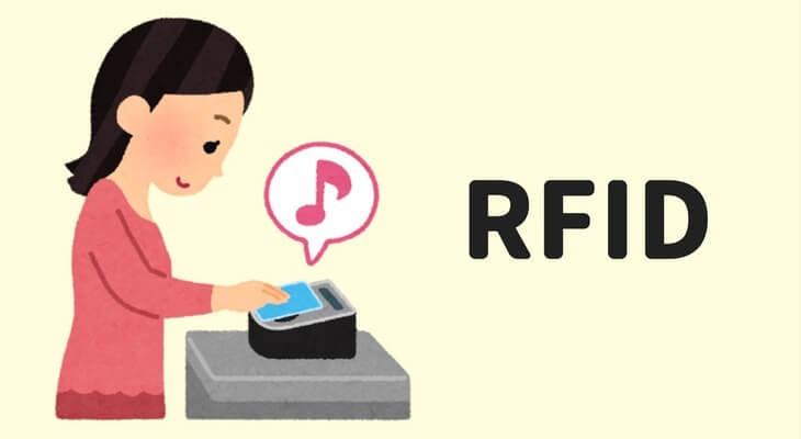 RFIDは、電子マネーSuicaで使われています