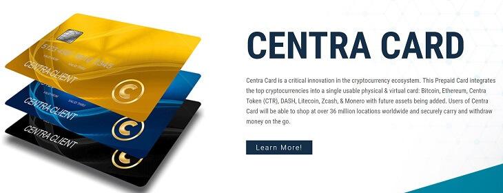仮想通貨『CTR(セントラ)』カードイメージ
