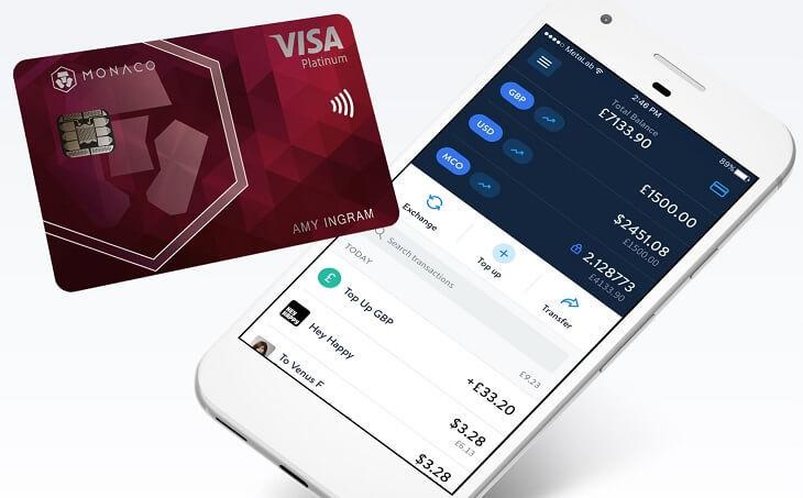 Monacoのデビットカードとモバイルアプリ