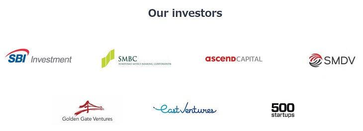 OmiseGoの投資家