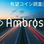 仮想通貨『AMB(Ambrosus)』