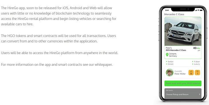 HireGoはアプリをリリース予定