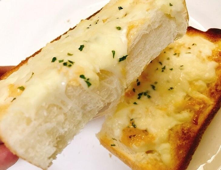 チーズトーストの中がフワフワ