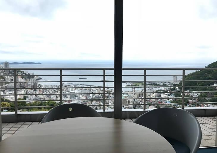 リゾナーレ熱海 テラスからの景色