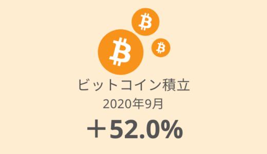 【ビットコイン積立 運用実績】32か月目は+89,089円でした(2020年9月)
