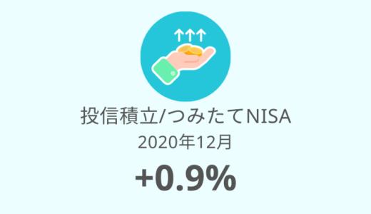 【積立投資信託 運用実績】37ヶ月目は+0.9%!ちょっぴり回復(2020年12月)