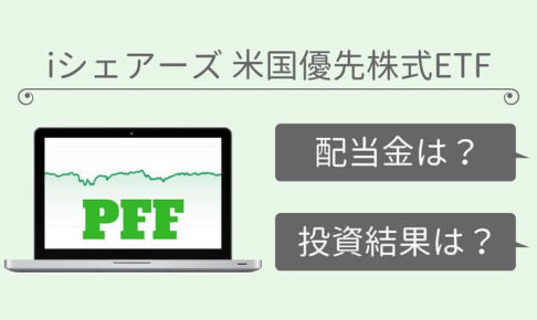 PFF(iシェアーズ 米国優先株式ETF)の運用実績