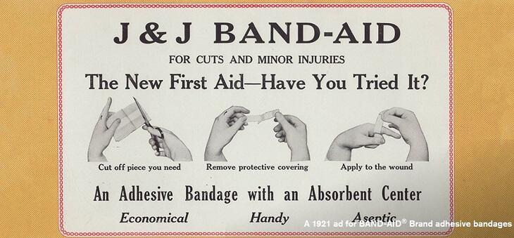 ジョンソン&ジョンソンはバンドエイドを生み出した