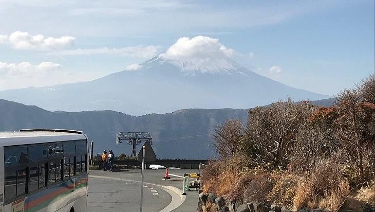 富士山も見える