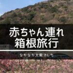赤ちゃん連れ箱根旅行