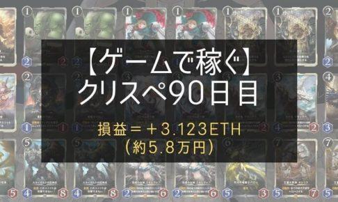 クリスぺ90日目