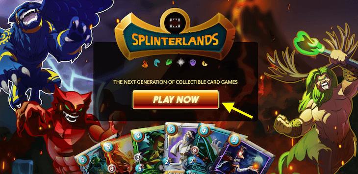 Splinterlandsの始め方1