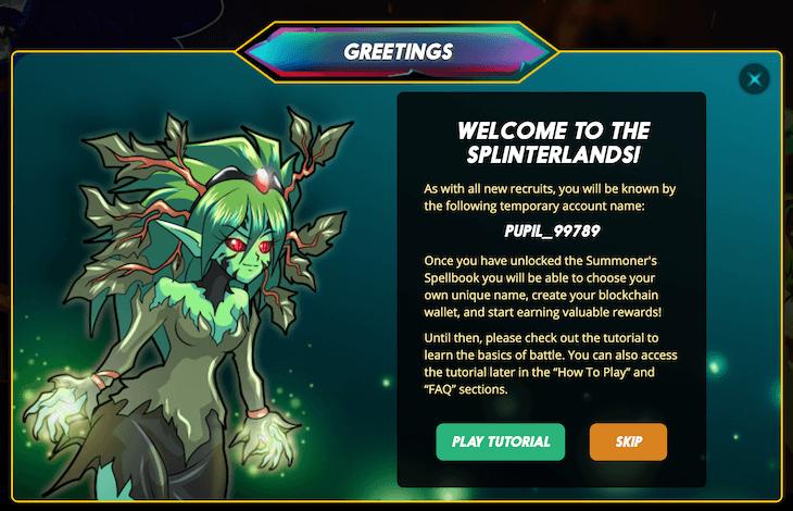 Splinterlandsの始め方6