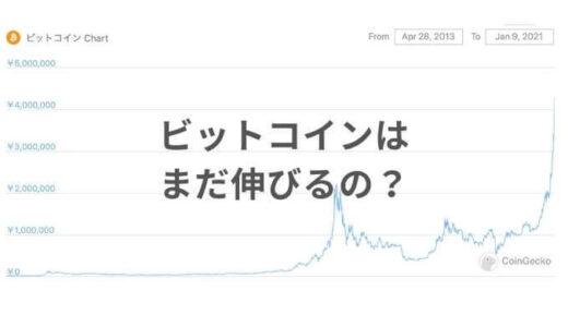 仮想通貨(ビットコイン)バブルなの?Googleさん、教えて…|2021年1月