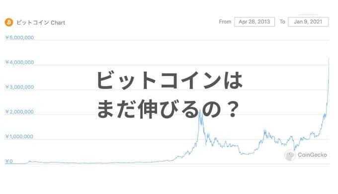 ビットコインはまだ伸びる?