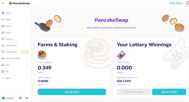 PancakeSwapが人気