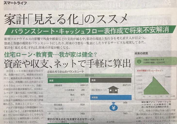 日経ヴェリタス2021/6/13号 取材部分