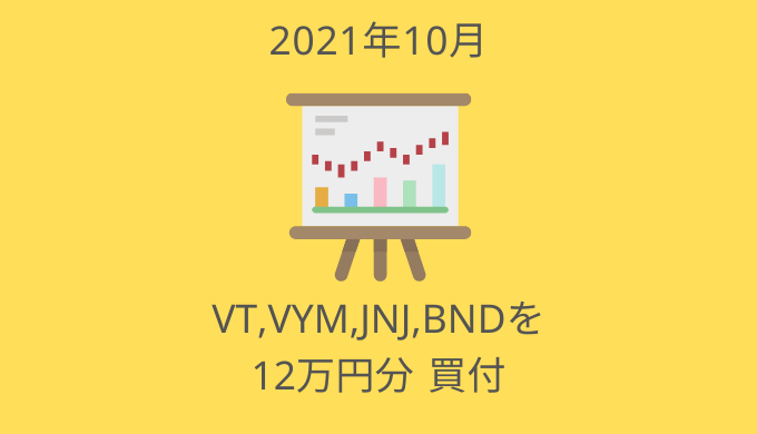 2021年10月の投資ログ